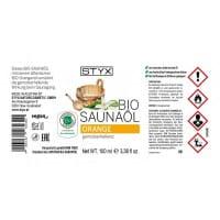 BIO Saunaöl Orange von STYX