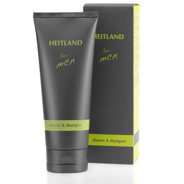 Heitland for men shower & shampoo