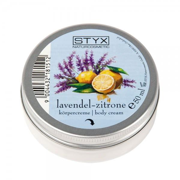 Lavendel-Zitrone Körpercreme von STYX