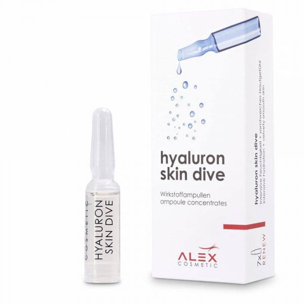 hyaluron skin dive Ampullen von Alex Cosmetic