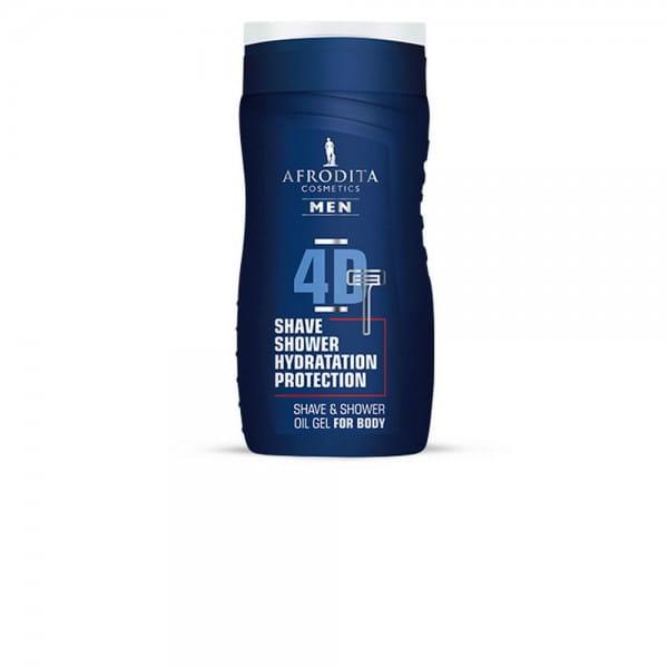 MEN 4D Rasier-und Duschgel