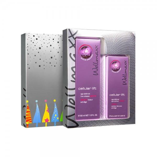 cellular lift defense line release serum + eye cream von Wellmaxx