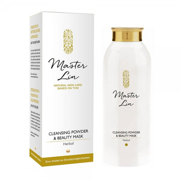 Herbal Face Cleansing Powder & Beauty Mask von Master Lin