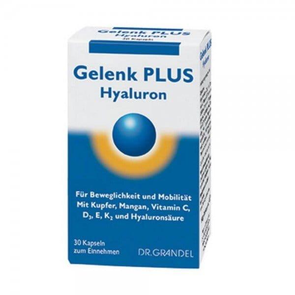 Gelenk plus Hyaluron - Kapseln von Dr. Grandel