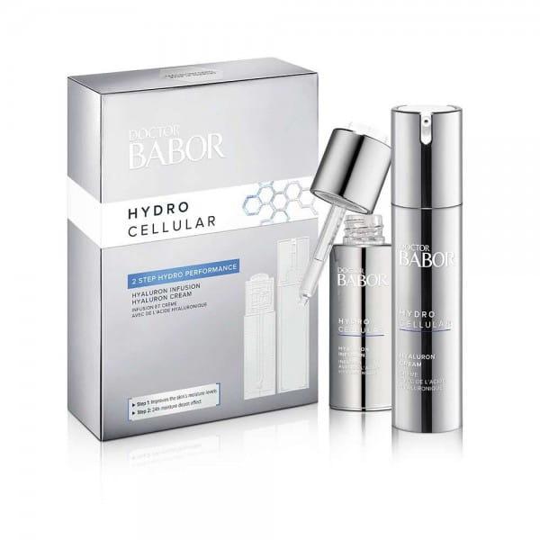 Doctor Babor Hydro Cellular Set / Hyaluronic Cream + Serum von Babor