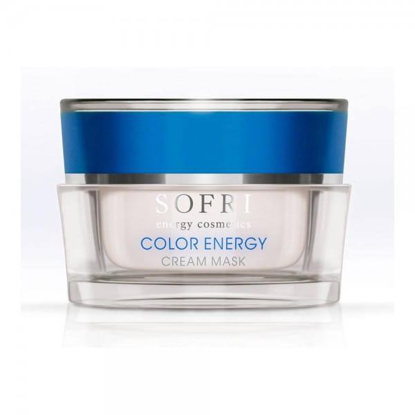 Color Energy Cream Mask / Blau von Sofri