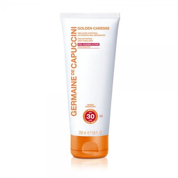 Solar Golden Caresse Tan Activating Body Emulsion SPF 30 von Germaine de Capuccini