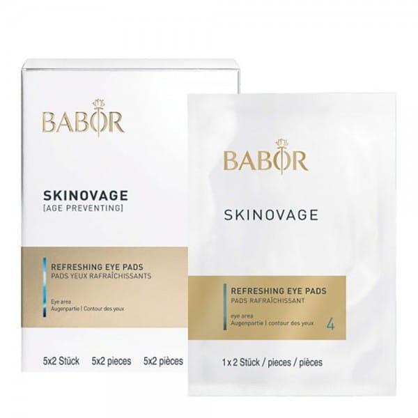 Skinovage Balancing Refreshing Eye Pads von Babor