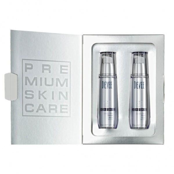 CAVIAR Luxury Skin Serum + Fluid von Devee