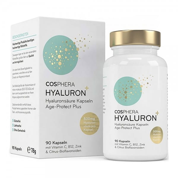 Hyaluronsäure+ Kapseln von Cosphera