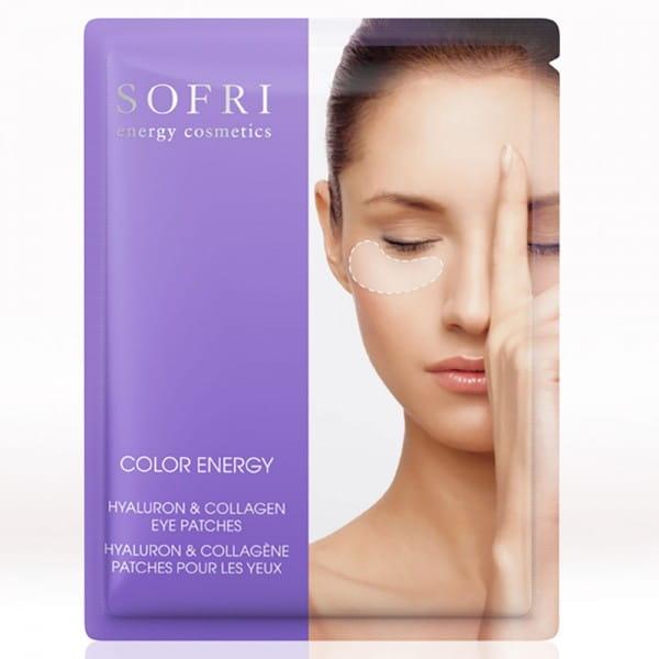 Color Energy Hyaluron & Collagen Eye Patches / Indigo-Flieder von Sofri