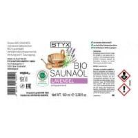 BIO Saunaöl Lavendel von STYX