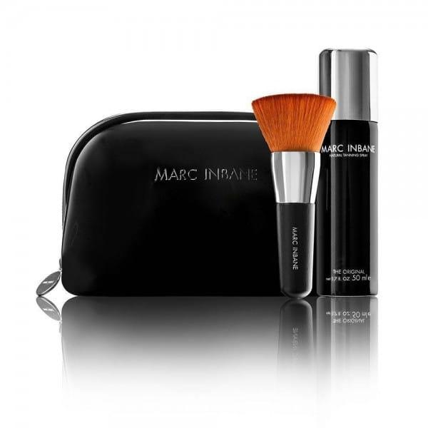 Travel Set (inkl. Spray 50 ml, Kabuki Brush) von Marc Inbane