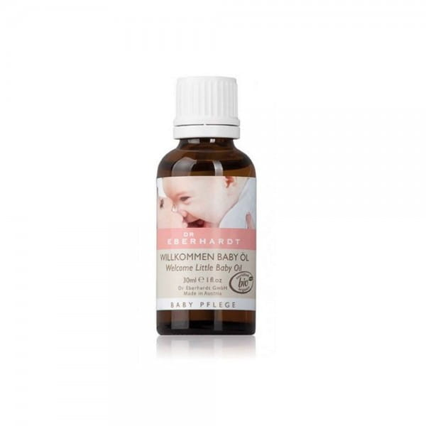 Willkommen Baby Öl Bio von Dr. Eberhardt