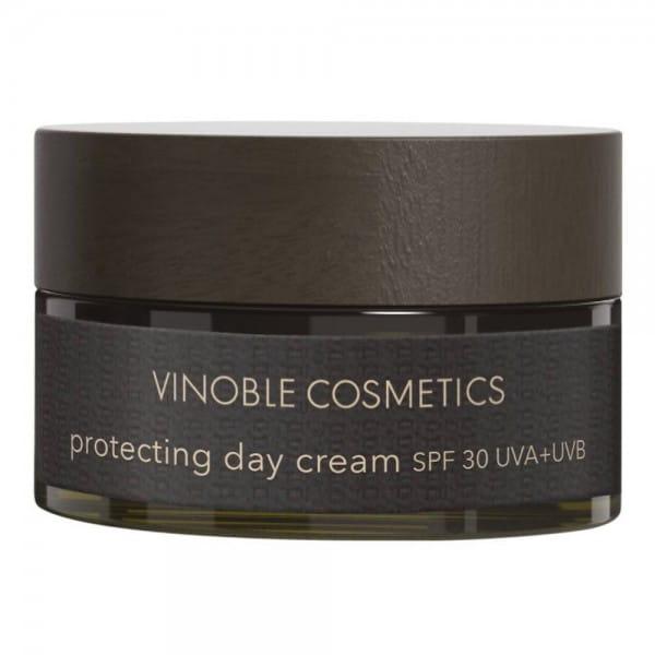 protecting day cream SPF 30 UVA+UVB von Vinoble Cosmetics