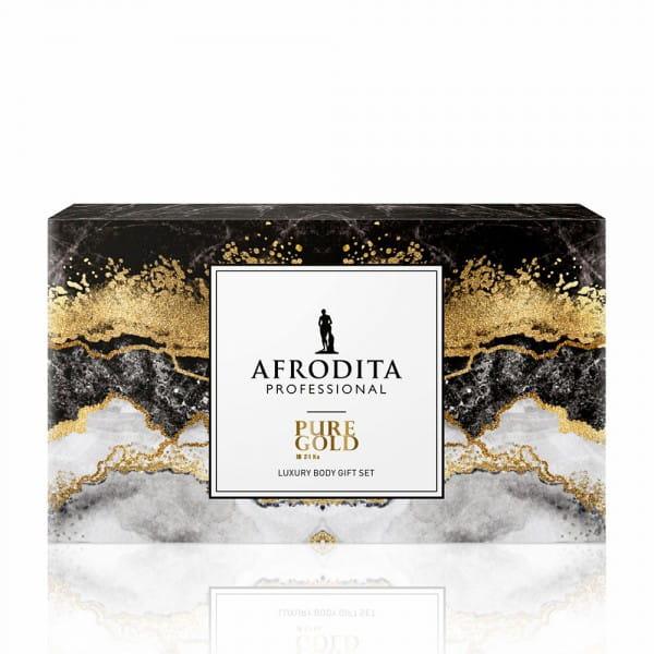 Geschenkset PURE GOLD Body care von Afrodita Professional