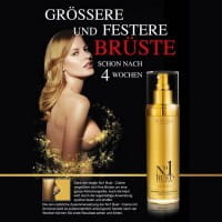 No1 Bust+ Rejuvenator / Brustcreme 24K Gold