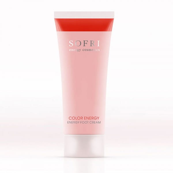 Color Energy Energy Foot Cream / Rot von Sofri